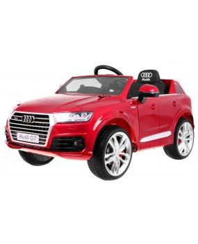 Elektrické autíčko Audi Q7 2.4 G lakované červené